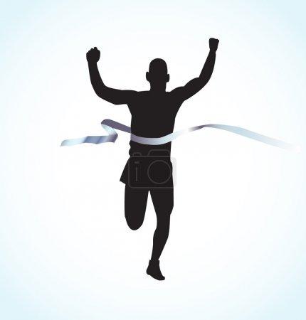 Finishing runner