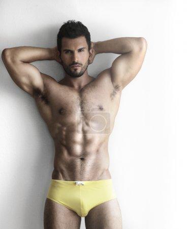 Hunk in underwear