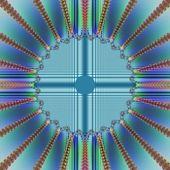 Tapety pozadí abstraktní vizi tunelu