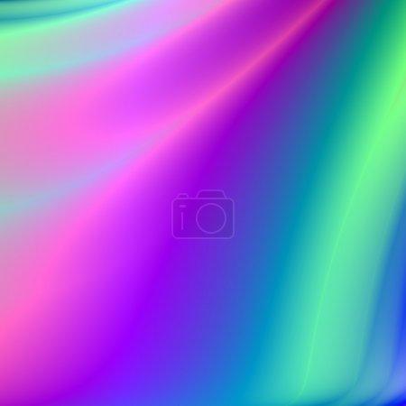 Photo pour Pastel doux comme violet bleus et des verts dans cette œuvre d'art abstrait qui peut être utilisé comme fond d'écran. - image libre de droit