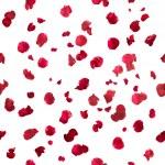 Repeatable rose petals in red, studio photographed...