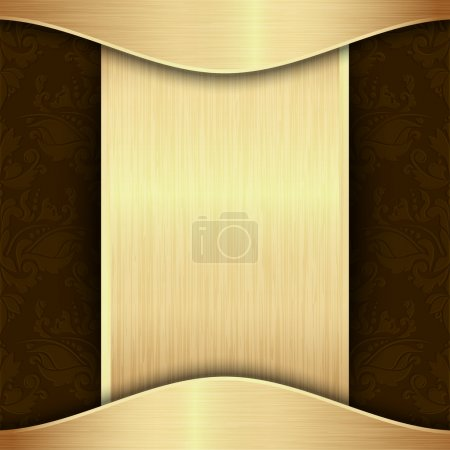 Gold and brown background
