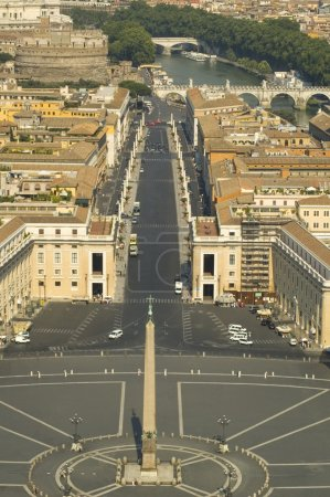 View from the top of the Vatican