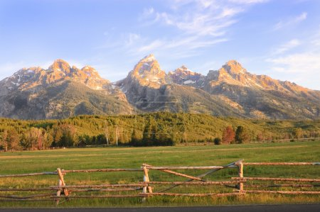 Sunrise in the Tetons