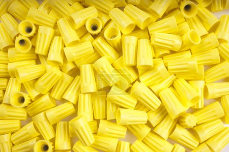 Yellow wire nuts