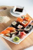 čerstvé a chutné sushi