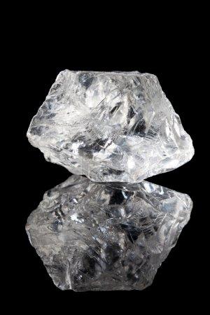 Clear quartz or rock crystal