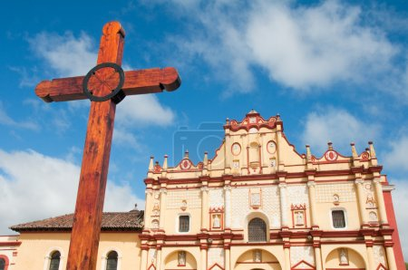 Photo for Cathedral of San Cristobal de las Casas, Chiapas (Mexico) - Royalty Free Image