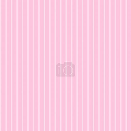 Robe rose pâle sur rayures ton sur ton