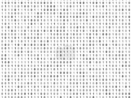 Photo for Flat binary code screen - Royalty Free Image