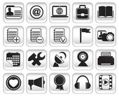 Set community buttons icons - part 2 - vector icon