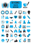 Set of medicine health icons - vector icons
