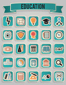Set of education icons - part 1