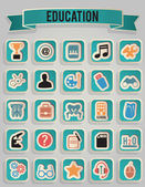 Set of education icons - part 3