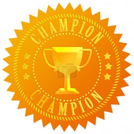 Champion gold seal