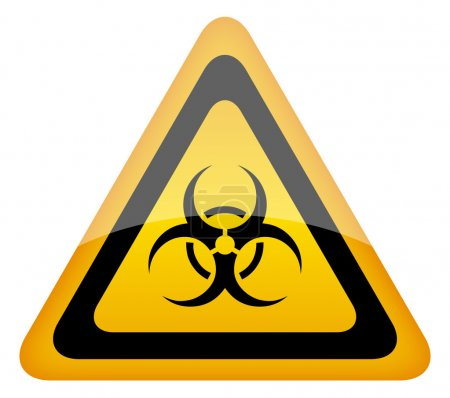 Biohazard vector sign