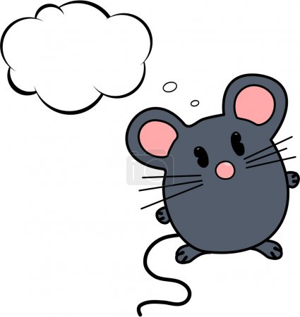 Thinking mouse