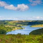Wimbleball Lake Exmoor National Park Somerset. It ...