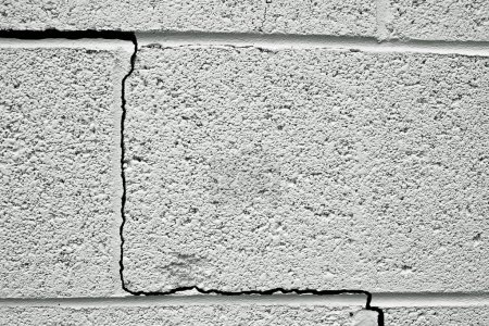 Cracked wall