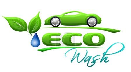 Eco car wash Symbol