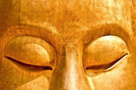 The Meditation of buddha status