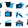 Culture and Art vector icons...