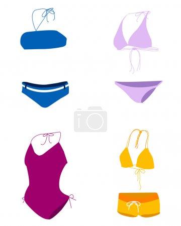 Bikini, maillot de bain, maillot de bain