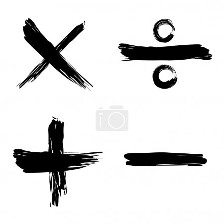 Tick, cross, positive, negative web icon...