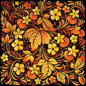 Russian traditional ornamental background