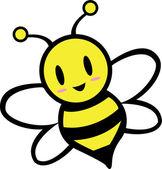 Roztomilé včelí zobrazení