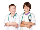Mladý tým lékařů