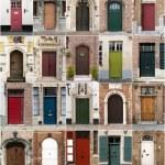 Постер, плакат: Doors from Bruges Belgium
