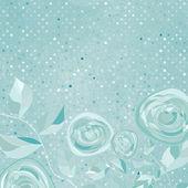 Gyönyörű retro rose pattern. EPS-8