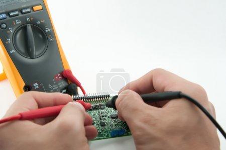Multi-Meter. Electrical Engineer