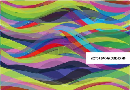 Illustration for A colorful vector pattern. Background - Royalty Free Image