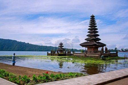 Ulun Dalu Temple in Bali Indonesia