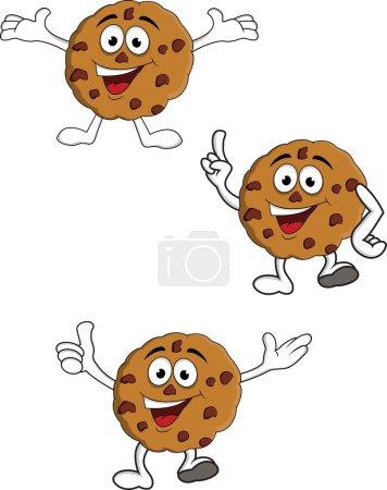 Cookies cartoon character
