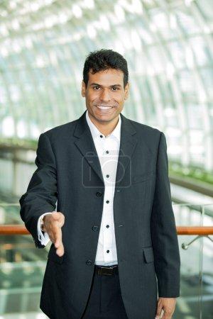 Portrait of an Indian business man.