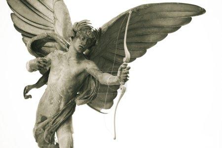 Photo pour Statue d'Éros à picadilly circus - image libre de droit
