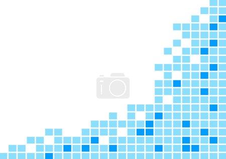 Illustration for Blue tile background - Royalty Free Image