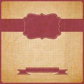 Eps10 vinobraní grunge starou kartu. pozadí s místem pro text