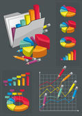 Infographic Set - Colorful Charts