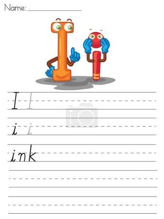 Alphabet sheet