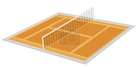 Volley ball ground
