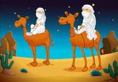 arabs on camel