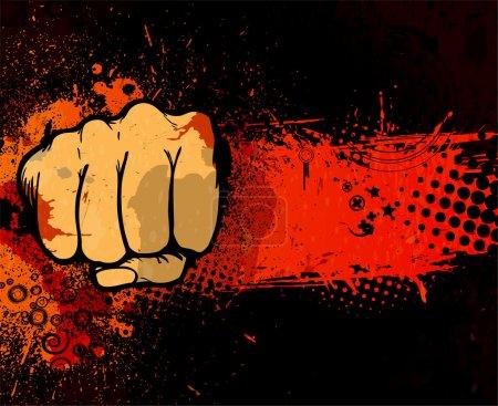 Grunge urban poster
