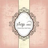 Luxury vintage frame template 04