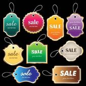 Sale tag collection