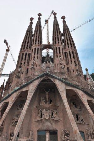 BARCELONA - JULY 24: Sagrada Familia Church, July ...