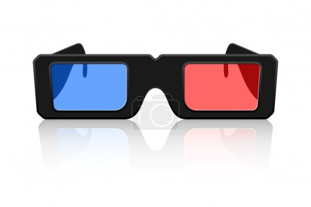 Vector 3D Glasses Icon